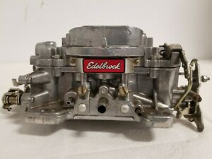 Holley 1150 Carb With Edelbrock Torcer Manifold 8867 l4