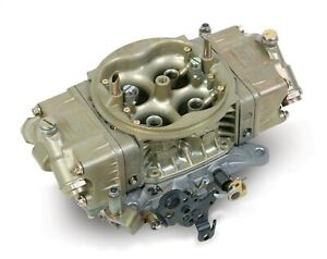 Holley 0 4235 Oe Muscle Car Carburetor 4 Bbl 770 Cfm Single Fuel Inlet Gas