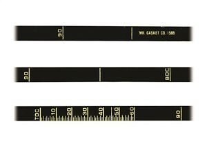 Mr Gasket 1588 Precision Timing Tape