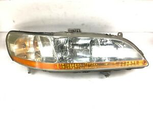 98 00 Accord Right Front Headlight Main Lamp Light Unit Beam Lens Bulb Used Oem