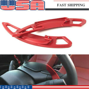 Red Steering Wheel Shift Paddle Shifter Extension For Honda Accord 2013 2018