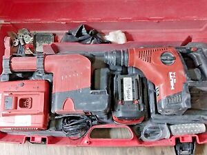 Hilti Te 7a Cordless Rotary Hammer Drill W Te Drs m Charger Case No Battery