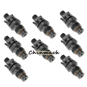 Set Of 8pcs 6 5l Turbo Diesel Marine Injectors For Gm Chevy 1992 2005 0432217255
