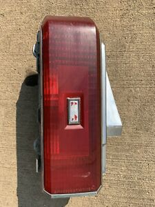 Oldsmobile Cutlass Supreme Coupe Tail Light Driver Side Oem 1981 1986