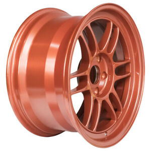 Enkei Rpf1 17x9 5x114 3 35mm Offset 73mm Bore Orange Wheel