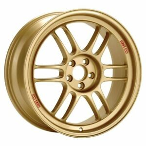 Enkei Rpf1 17x9 5x114 3 45mm Offset 73mm Bore Gold Wheel Rx8