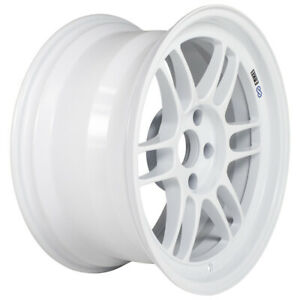 Enkei Rpf1 17x9 5x114 3 22mm Offset 73mm Bore Vanquish White Wheel
