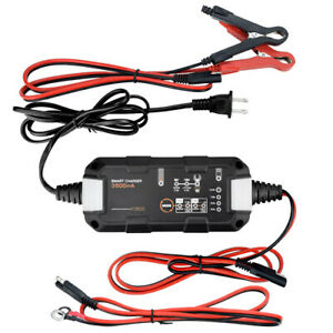 Banshee 6 12v 3 5a Fully Automatic Battery Charger Maintainer For Lithium Sla