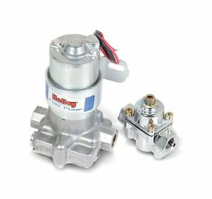 Holley Electric Fuel Pump Blue Auto Comfortable Durable Tool Perfect Aluminum