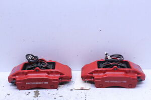 2000 2012 Porsche Boxster S Cayman S 986 987 Rear Brake Calipers Brembo Pair Red