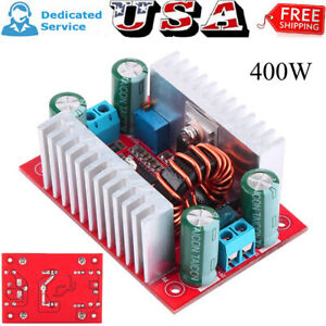 400w Dc dc Step Up Boost Buck Voltage Current Converter Power Supply Module 15a