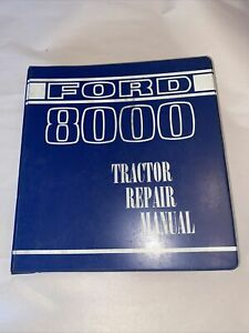 Ford 8000 9000 Farm Tractor Repair Service Manual