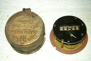 Vintage Brass Trident Neptune Water Meter new York excellent
