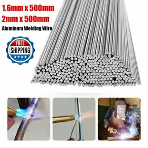 Easy Melt Welding Rods Low Temperature Aluminum Wire Brazing 2mm 1 6mm 500mm