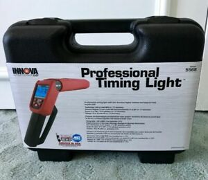 Innova 5568 Pro Timing Light With Tool Case Circuitry Digital Test 4 Function