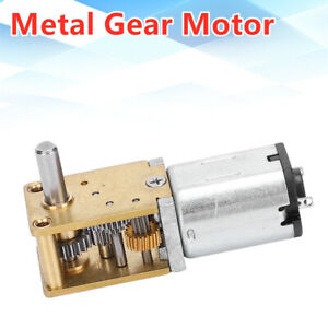 Mini Micro Metal Gear Motor N20 Dc12v Speedreduction Cw ccw Micro Motor 381rpm