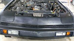 84 89 Chrysler Conquest Turbo Header Panel With Stone Guard see Description