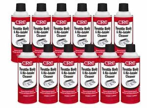 Crc Throttle Body Air Intake Cleaner 12 Oz Case Of 12 Crc05078 12pk