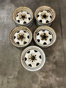 1988 2001 Jeep Cherokee Comanche Wrangler Factory Base Styled White 15 Wheels