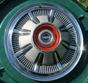 One1966 1977 Ford Bronco F100 F150 Truck 15 Hubcap Wheel Cover Oem Silver Paint