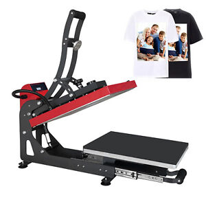 110v 16 X 20 Auto Open T shirt Heat Press Transfer Printing Machine Magnetic