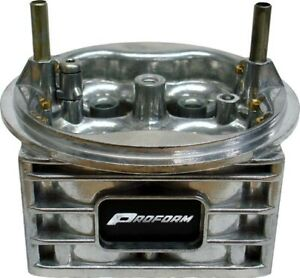 Proform Carbu Main Body For Use W Holley 750 Cfm Vacuum Secondary Mod Carb