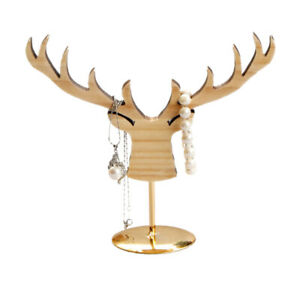 1pc Jewelry Display Stand Elk Shape Display Rack For Ring Bracelet Necklace