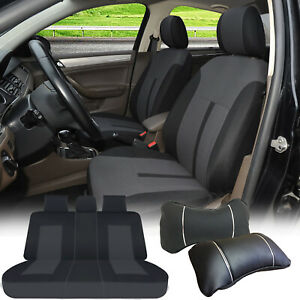 Full Car Covers Fabric Polyester Front Rear Tuson 60161 Black