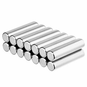 1 4 X 1 Inch Neodymium Rare Earth Cylinder rod Magnets N52 14 Pack