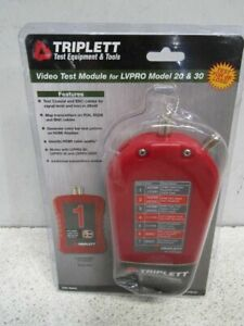 Triplett Add on Video Test Module For Low Voltage Pro Cable Testers vtm kit