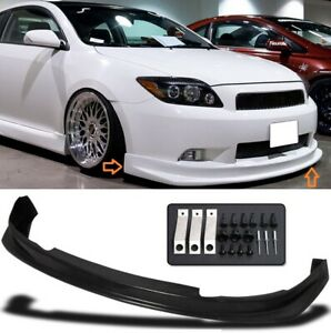 Fit For 05 10 Scion Tc Sport Style Pu Front Bumper Lip Chin Spoiler Body Kit