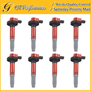 Performance Ignition Coil 8pcs Set For 2011 2016 Ford F 150 Mustang 5 0l V8