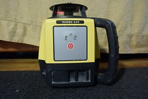 Leica Red Beam Self Leveling Laser Level Model Rugby 610