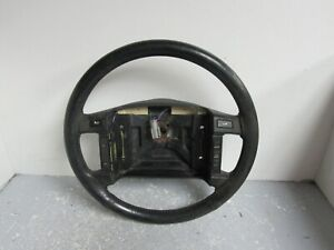 90 93 Mustang Leather Wrapped Steering Wheel W Cruise Control 1990 1993 Oem