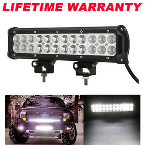 1680w Cree Led Light Bar 12 Inch Driving Work Spot Flood Combo Offroad 4x4 Suv