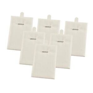 Pendant Necklace Display Cards Holder Tags Jewelry Display Accessories White