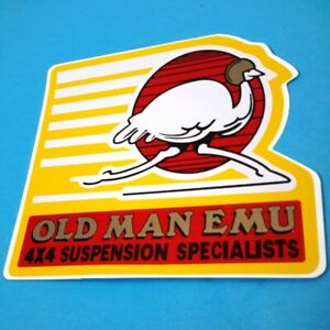 Rare 4x4 Suspension Old Man Emu Arb Jeep Ford Toyota Sticker Car Truck Off Road
