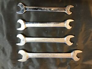 4 Snap on Sae Speed Wrenches 3 8 Thru 5 8 See Pics Like New