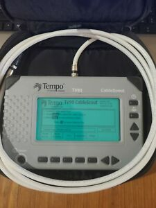 Greenlee Tempo Cablescout Tv90 Coax Catv Tdr Cable Tester Tv 90