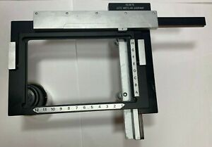 Leitz 520573 Universal Attachable Mechanical Xy Stage For Well Plate 96 Plate
