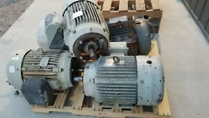 Baldor 30hp Electric Motor 1755rpm 230 460vac 3ph 286tc