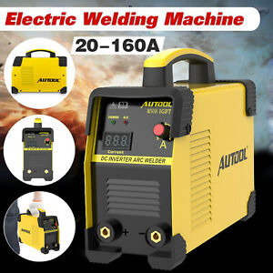 Electric Welding Machine 110 220v Mma Arc Igbt Dc Stick Inverter Welder 20 160a
