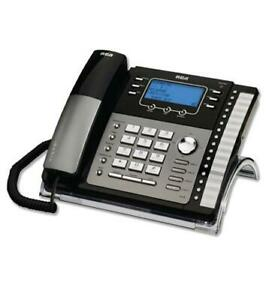 Rca 4 line Corded Telephone With Caller Id