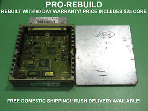 Rye0 Ford E350 F350 7 5l 460 Ecu Ecm Pcm Engine Computer F4tf 12a650 Cla Rebuilt