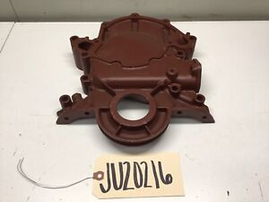 1968 1973 Ford Mustang 302 V 8 Small Block Sb Timing Chain Cover D20e 6059 aa