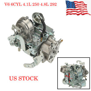 Carburetor Conversion Kit For Chevy Gmc L6 Engine 4 1l 250 4 8l 292