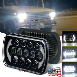 105w 5x7 7x6 Led Headlight For Jeep Wrangler Yj 1986 1995 Cherokee Xj 1984 2001