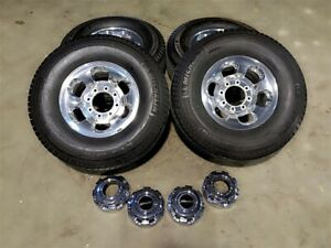 16 Ford Excursion Limtied F250 F350 Suderduty King Ranch Polished Wheels Tires