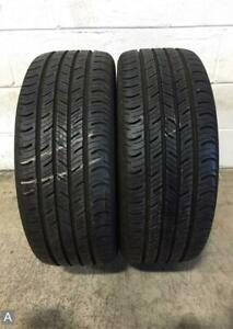 2x P225 55r17 Continental Contiprocontact 10 32 Used Tires
