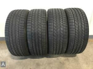 4x P215 45r18 Dunlop Sp Sport 5000 8 9 32 Used Tires